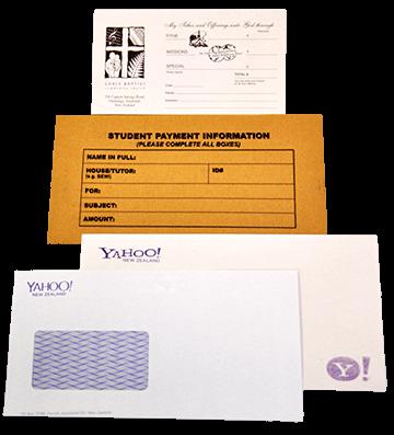 Envelop printed